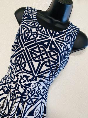 ENFOCUS Petite, Navy Blue & White Dress, Size 6P for Sale in Phoenix, AZ
