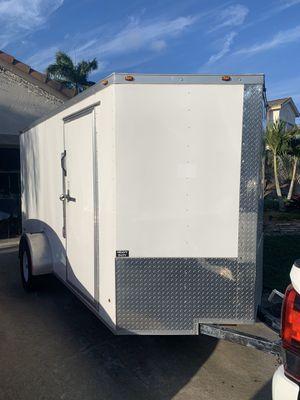 2019 ENCLOSED TRAILER LIKE NEW 6x12 for Sale in Boynton Beach, FL
