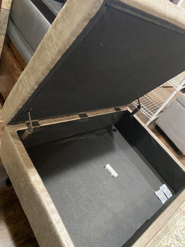 Ottoman Coffee Table Storage