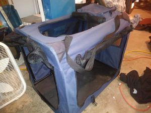 Collapsible dog carrier for Sale in Denver, CO
