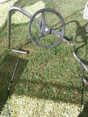 Boat steering system for inflatables or small aluminum boats. for Sale in Lincoln Acres, CA
