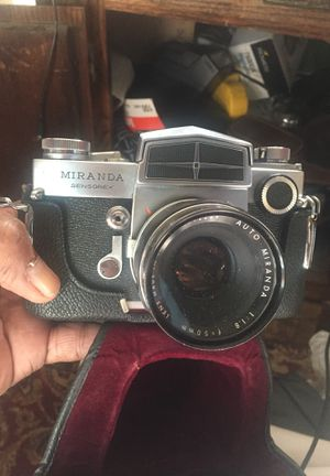 Miranda Sensorex Film 35mm Film Camera for Sale in Sacramento, CA