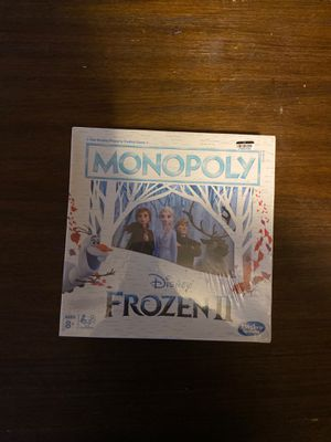 Frozen II monopoly board Game for Sale in Cleveland, OH