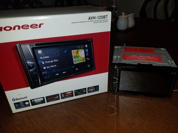 Pioneer 120BT DVD CD 6.2inch