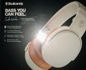 Skullcandy bass crusher wireless headphones for Sale in St. Louis, MO