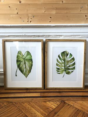 Threshold Target Framed Plant Art Print Painting for Sale in Brooklyn, NY