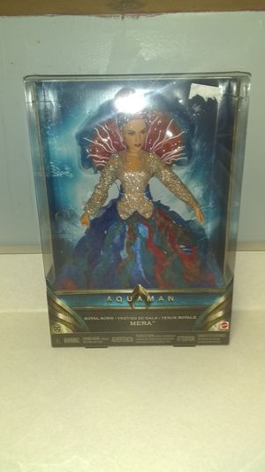 New Barbie - Aquaman Barbie Doll - Beautiful Colorful for Sale in Portland, TN