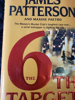 5 James Patterson Books for Sale in Cumberland,  RI