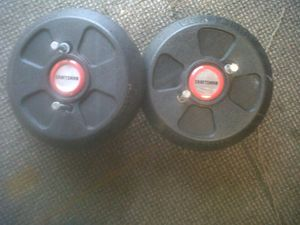 Craftsman lawn tractor mower weights for Sale in Saugus, MA