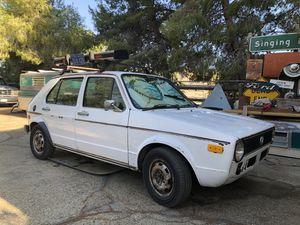 1979 VW Rabbit Diesel for Sale in Palmdale, CA