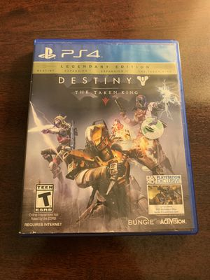 Destiny the taken king PS4 for Sale in Joanna, SC