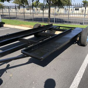 Car trailer with ramps for sale for Sale in Anaheim, CA