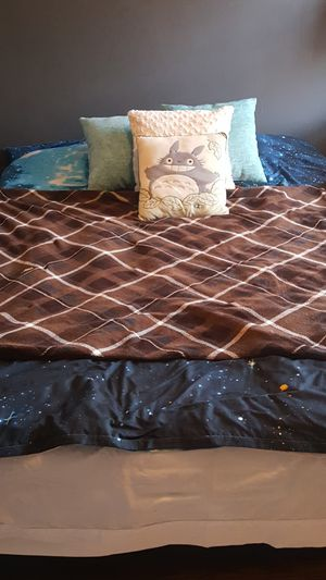 Memory foam bed and bedding for Sale in Washington, DC