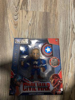 "6"" Captain America Metal Figure for Sale in Philadelphia, PA"