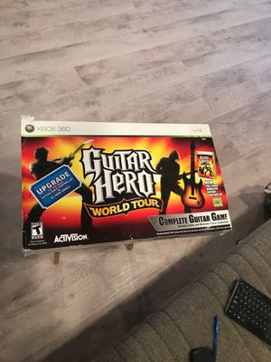 Guitar Hero World Tour Xbox360 for Sale in Los Angeles, CA