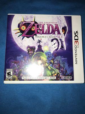 The Legend of Zelda Majoras Mask Nintendo 3ds missing shrink wrap for Sale in San Diego, CA