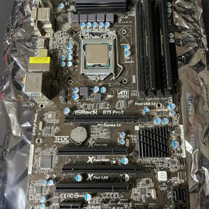 Asrock B75 Pro 3 With i7 3770 16gDDR3 for Sale in San Diego, CA