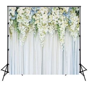 Vinyl Photo Backdrop Floral Wedding Anniversary Background Video Studio Props for Sale in Houston, TX