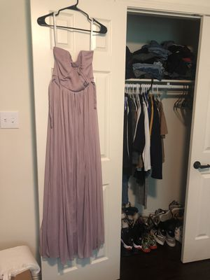 Wedding /prom Dress for sale ! (Worn once as a Brides Maid Dress ) for Sale in New Orleans, LA