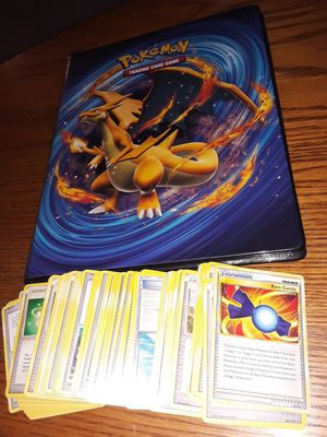 Pokemon cards collection holos gx Charizard binder for Sale in Philadelphia, PA