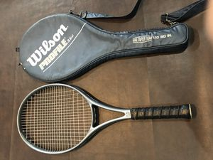 Racket racquet Tennis Wilson profile 3.6 $40 OBO for Sale in Rancho Cucamonga, CA