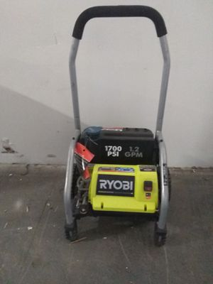 Ryobi 1700psi 1.2gpm pressure washer for Sale in Houston, TX