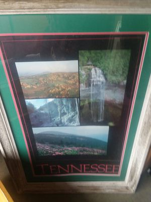 Large framed Tennessee picture for Sale in Kodak, TN