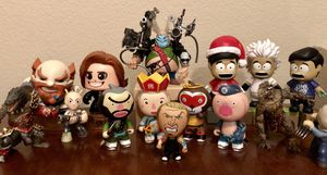 Collectable Vinyl figures Tao, Funko, MightyMugs.... for Sale in Fircrest, WA