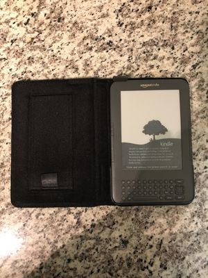 Amazon Kindle with Case for Sale in Winter Park, FL
