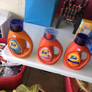 TIDE DETERGENT 10 for $30 for Sale in Mesquite, TX