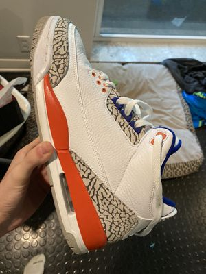Jordan 3 knicks size 10.5 og all solid condition for Sale in St. Louis, MO