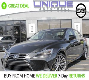 2017 Lexus IS for Sale in South Ambou, NJ