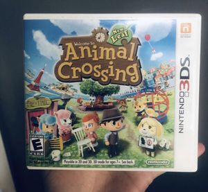Animal crossing new leaf 3ds for Sale in Miami, FL