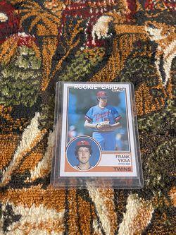 Frank Viola Timeless 80's Card for Sale in Fort Washington,  MD