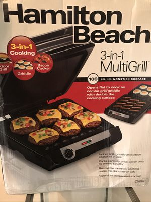 3in1 multi grill for Sale in Columbus, OH