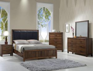 Brand new 4 Pcs Queen Bedroom Set (included Queen Mattress Set) for Sale in San Diego, CA