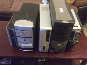 Computer Towers and Monitors for parts for Sale in Daytona Beach, FL