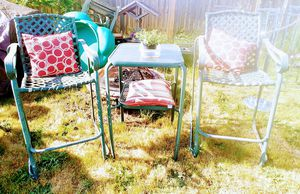 Outdoor bar height table and chair patio set for Sale in Tacoma, WA