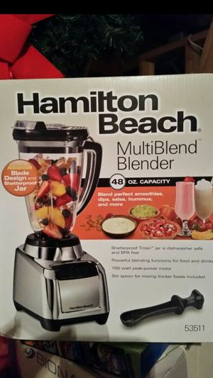 New! Hamilton Beach Blender 700 Watts for Sale in Raleigh, NC