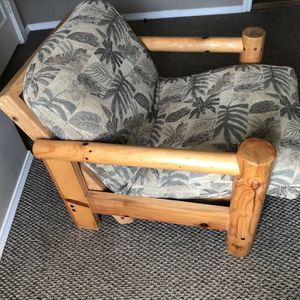 Reclining Log Chair / Mini Futon for Sale in Happy Valley, OR