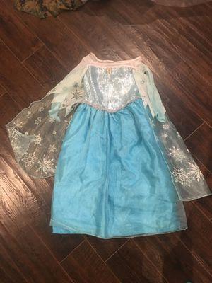 Frozen Elsa Disney Store Dress 5/6 for Sale in Virginia Beach, VA