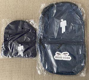 Knit Hat + Backpack. Blue color for Sale in Glendale, AZ