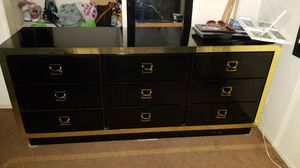 Black and gold dresser for Sale in Garden Grove, CA