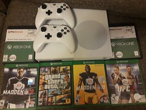 Xbox 1 1 tb 6 games and I also have 2k18 I'll throw in to and still have box for Sale in Pueblo, CO