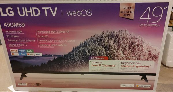 "49"" LG 4k UHD smart tv BRAND NEW"