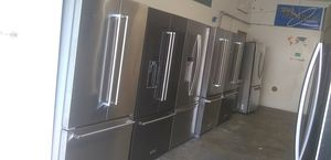 Stainless steel french door refrigerator home and kitchen appliances for Sale in San Diego, CA