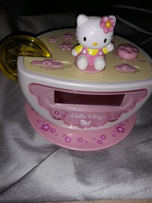 HELLO KITTY TEA CUP CLOCK ALARM & RADIO with NIGHT LIGHT!! for Sale in West Covina, CA