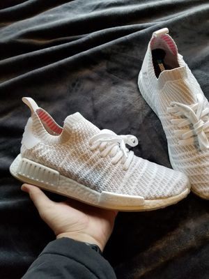 Adidas NMD prime knit white size 11 for Sale in Cleveland, OH
