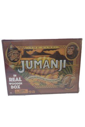 JUMANJI Board Game Real Wood Wooden Box- A Game For Those Who Seek An Adv for Sale in Phoenix, AZ