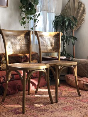 Lulu and Georgia Cane Seat Dining Chairs (Set of 2) for Sale in San Diego, CA
